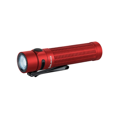 OLIGHT Warrior Mini 1500 Lumen Compact Rechargeable Camping EDC Flashlight RED