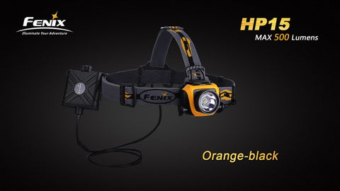 Fenix HP15 4 x AA CREE XM-L2 500 Lumen LED Headlamp