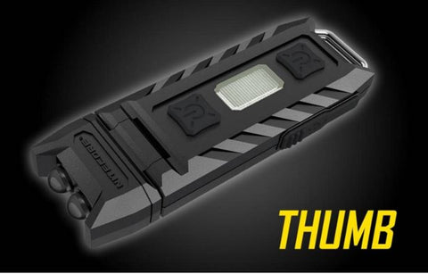 Nitecore Thumb 85 Lumen Rechargeable Keychain Light With Red LED