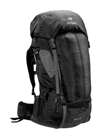 Arc'Teryx Altra 62 Backpack Womens - Raven Reg