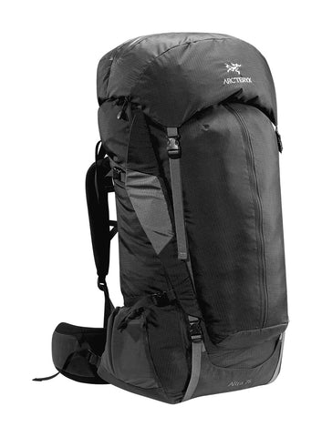 Arc'Teryx Altra 75 Backpacking Backpack - Mens Raven Tall