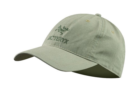 Arc'Teryx Embroidered Bird/Word Cap Silver Sage - One Size
