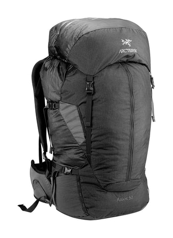 Arc'Teryx Axios 50 Backpack Mens - Raven Reg