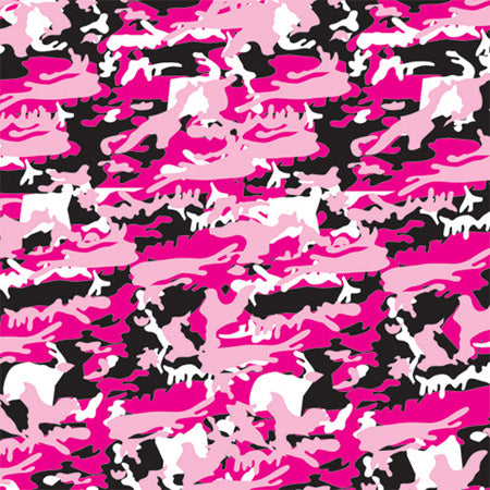 Pink Camo Cotton Bandana