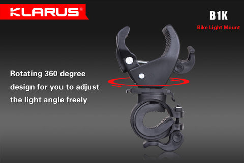 Klarus B1K Bike Light Mount