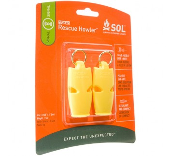 AMK  S.O.L. Rescue Howler Whiste - 2 Pack