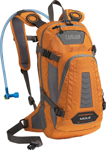 Camelbak MULE 100 oz Hydration Pack - Russet Orange/Charcoal