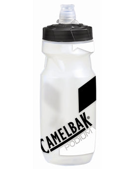Camelbak Podium Water Bottle 21 oz Clear/Carbon
