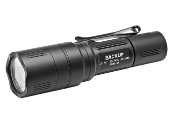 Surefire EB1 Backup Tactical 200 Lumen LED Flashlight - Silver