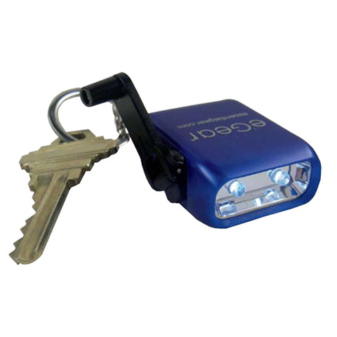 eGear Dyno Mite 2-LED Keychain Winding Flashlight