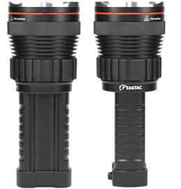 EagleTac M3C4 Single CREE XM-L2 LED 1020 Lumen 4 x CR123 or 2 x 18650 Flashlight