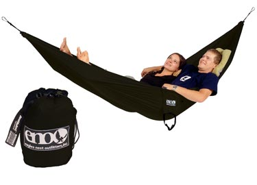 ENO Double Nest Hammock - Black - 2012 Model