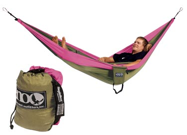 ENO Double Nest Hammock - Khaki - 2012 Model
