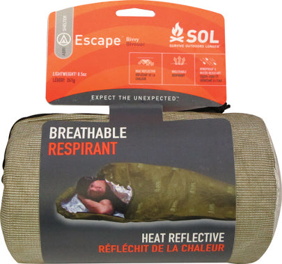 AMK SOL Escape Bivvy OD Green