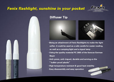 Fenix Flashlight Diffuser Tip Small