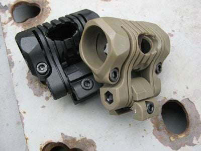 Fenix Flashlight Gun Mount - Tan