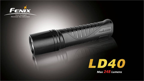 Fenix LD40 CREE XP-G R4 Neutral LED Flashlight