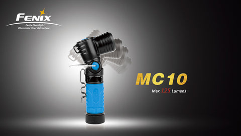 Fenix MC10 LED Anglelight - Black Grip