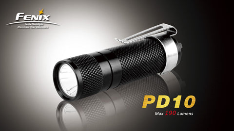 Fenix PD10 CREE XP-E R2 LED Flashlight