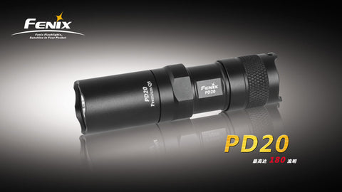 Fenix PD20 Black CREE LED Flashlight