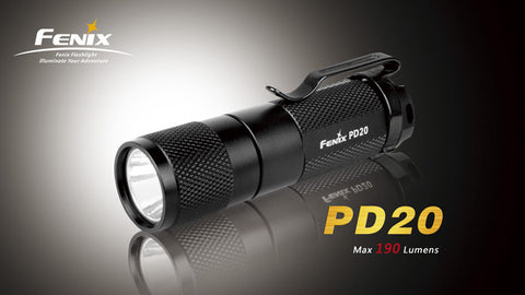 Fenix PD20 R5 CREE XP-E LED Flashlight