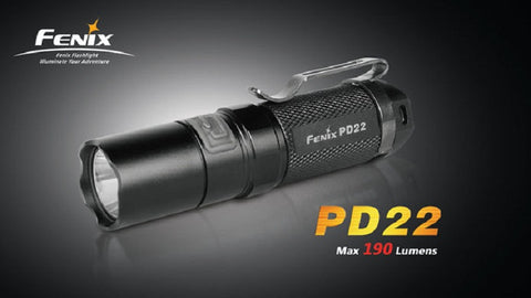 Fenix PD22 R5 CREE XP-E LED Flashlight