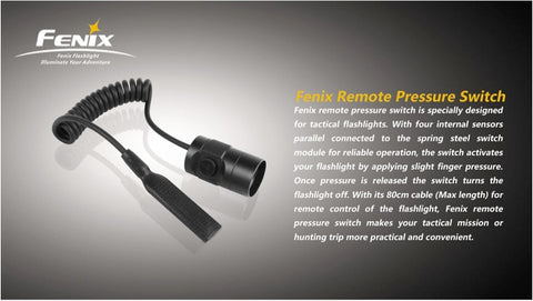 Fenix Flashlight Remote Pressure Switch
