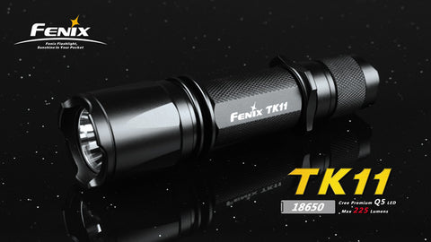 Fenix TK11 CREE Q5 LED Flashlight Olive
