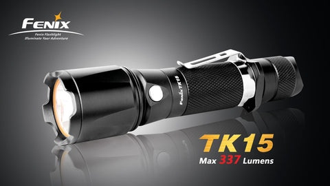 Fenix TK15 XP-G R5 LED Tactical Flashlight