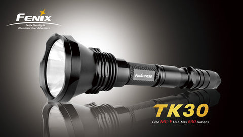 Fenix TK30 CREE MC-E 700 Lumen LED Flashlight