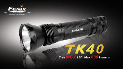 Fenix TK40 Black CREE LED Flashlight