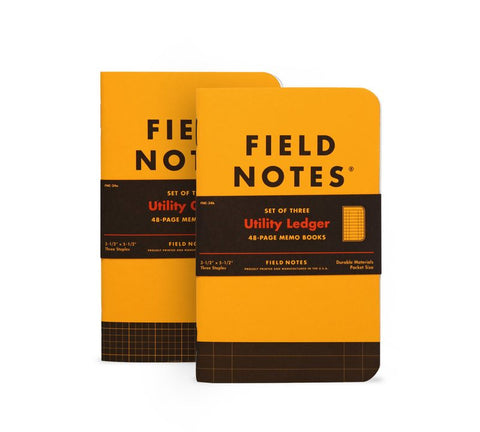 Field Notes Utility Ledger 3-Pack