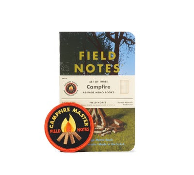 Field Notes 2017 Summer Quarterly Edition Campfire Graph 3-Pack Notebooks