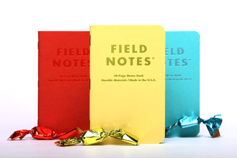 Field Notes Sweet Tooth (3-pack) Plain Paper Memo Book