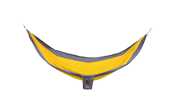 Grand Trunk Single Parachute Nylon Hammock- Orange/Silver
