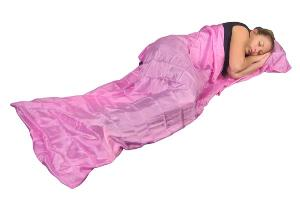 Grand Trunk Pink Collection Silk Sleep Sack