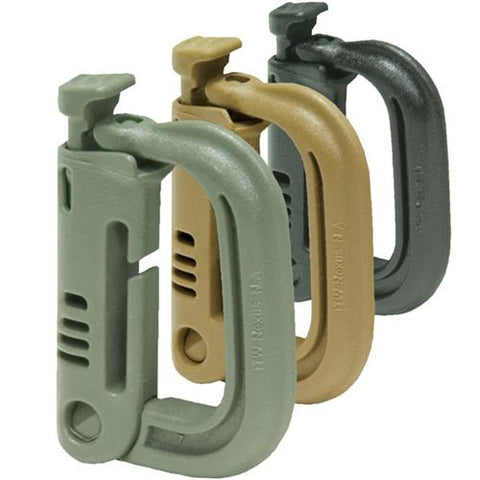 Grimloc D-Ring Carabiner - Foliage Green