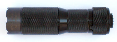 HDS Systems EDC Rotary Flashlight - 200 Lumens Black