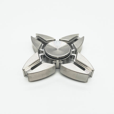 C8-X Fidget Spinner-Stainless Steel