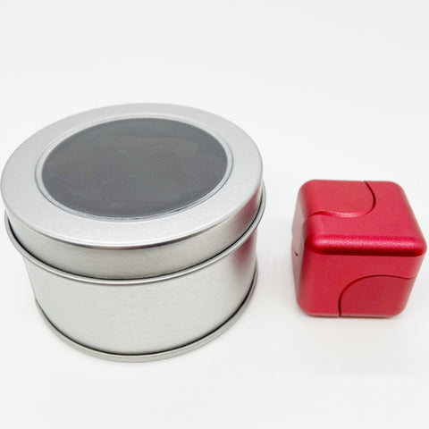 L7 Cube Fidget Spinner-Red
