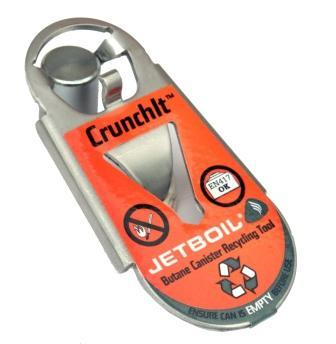 Jetboil Crunchit - Butane Canister Recycling Tool