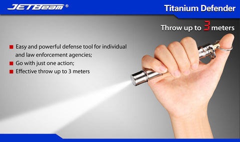 JETBeam Titanium Defender Pepper Spray