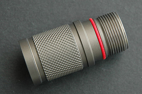 JETBeam M1X EXT-1 Extended Body Knurled - Gray