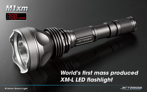 JETBeam M1XM CREE XM-L LED Flashlight
