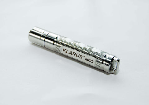 Klarus MI10 Stainless Steel XP-E R2 AAA LED Flashlight