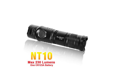 Klarus NT10 XP-G R5 CR123 LED Flashlight