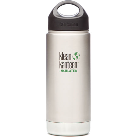 Klean Kanteen Wide Mouth Insulated Stainless Bottle 16 oz