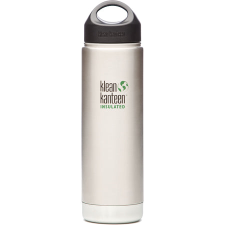 Klean Kanteen Wide Mouth Insulated Stainless Bottle 20 oz