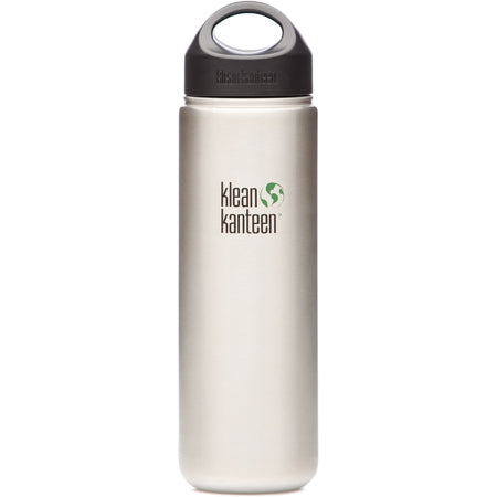 Klean Kanteen Wide Mouth Stainless Steel Bottle - 27 oz