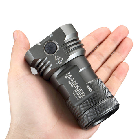 Manker MK34 3 x 18650 8000 Lumen Cree XP-G3 LED Flashlight